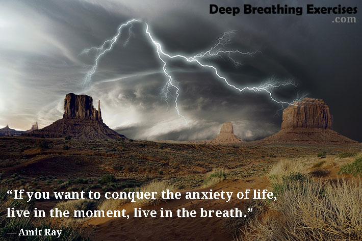 Conquer Anxiety of Life - Breathe